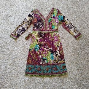 Eci NY long sleeve dress